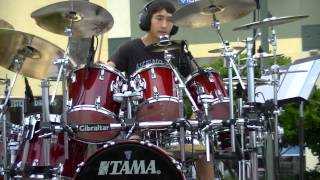 Drum Cover of Blinded in Chains by Avenged Sevenfold performed by Tyler Kile.
