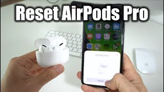 How To Reset your Apple AirPods Pro - Hard Reset