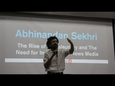 The Rise of Newslaundry and the Need for an Independent Media|Abhinandan Sekhri| NITK E-Summit