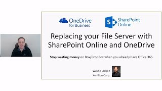 [Demo Heavy] Replace your file server with SharePoint Online and OneDrive 2018