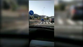 Relacionan un delito de conducción temeraria con accidente por vídeo en redes