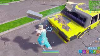 Fortnite victory royale with new Glimmer skin
