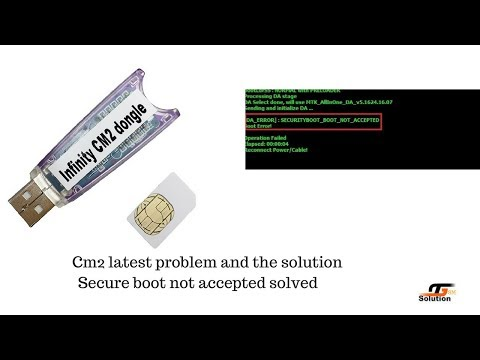 CM2 Secure Boot Failed And Android 7 Supported Tricks.