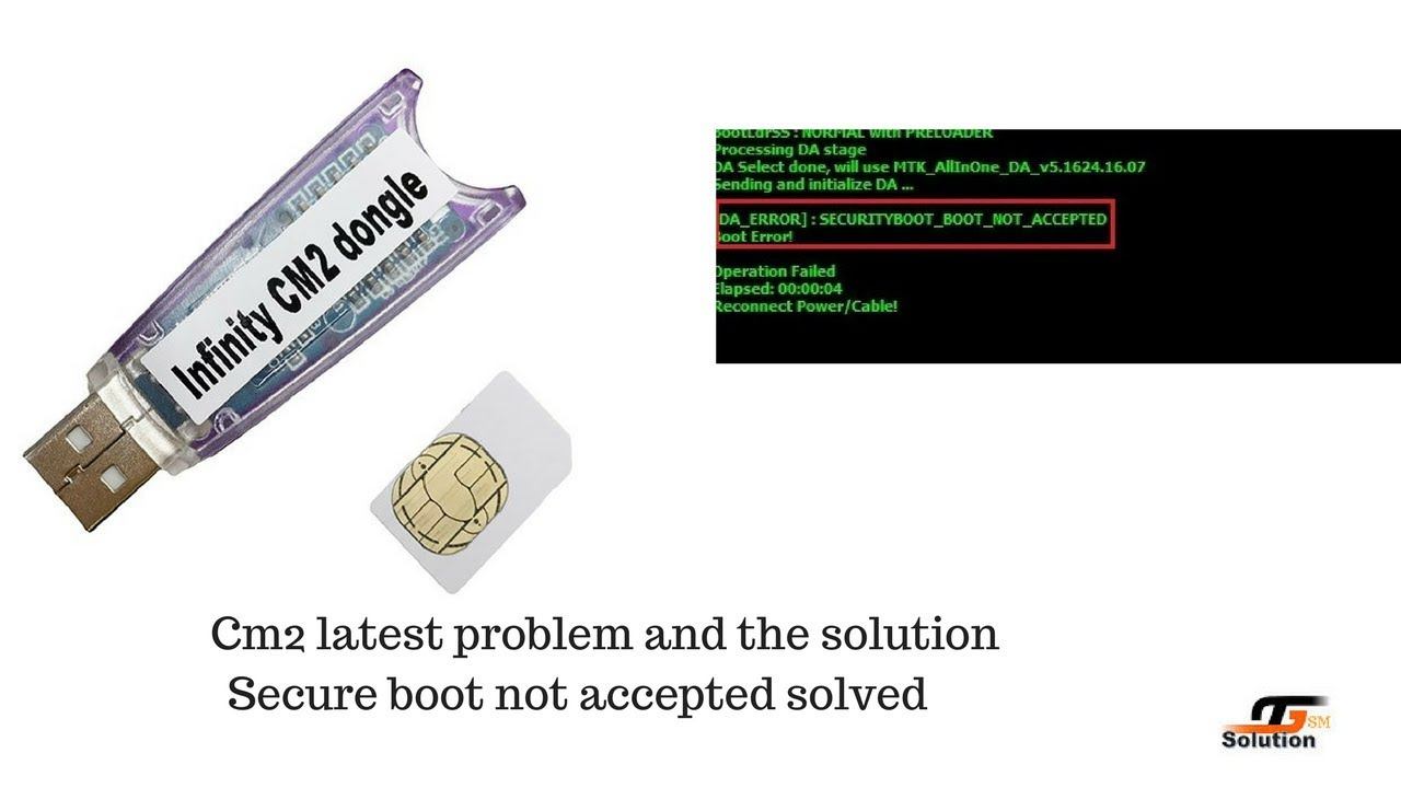 CM2 Secure Boot Error problem Fix Solution/Boot file tested
