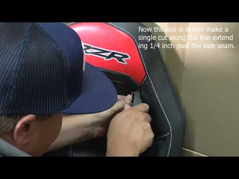UTVMA RZR 4-Point Harness Pass Through Install Tutorial