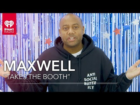 "Maxwell Takes ""The Booth"" For The iHeartRadio Music Awards 