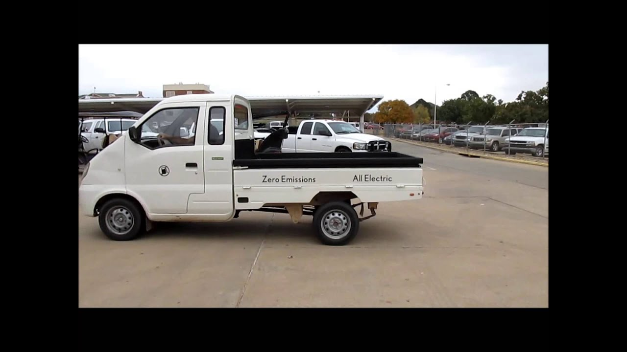 2009 Miles Zx40 Utility Truck Demo