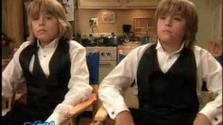 Dylan and Cole Sprouse On Extra