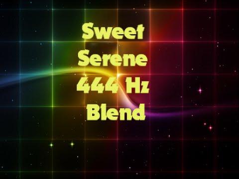 AMAZING WELLBEING, BALANCE, FOCUS, RESTPlus! SWEET SERENE 444 Hz Beyond Binaural Blend