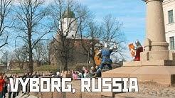 Vyborg, Russia. Swedish-Finnish-Russian City (Viborg, Viipuri). First Trip. Vlog.