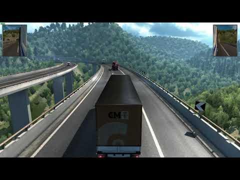 Euro Truck Simulator 2: Italia DLC - Suzzara to Livorno