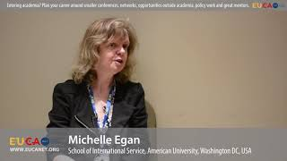 EU experts in the spotlight: Dr. Michelle Egan on how to plan your career when studying EU/Europe