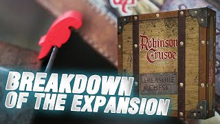 Treasure Chest - breakdown of the expansion with designer