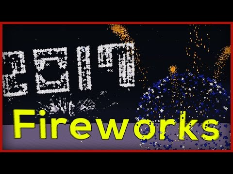 MORE FIREWORKS In One Command Minecraft 1.11!