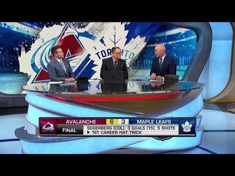 NHL Tonight:  Avalanche win:  breaking down Colorado`s 6-3 win against Toronto  Jan 14,  2019