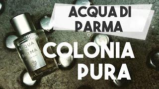 PACHNĄCY TYP: PERFUMY Acqua di Parma Colonia Pura: mróz, jaśmin i liść pomarańczy