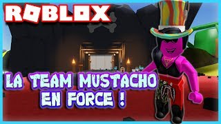 LA TEAM MUSTACHO EN FORCE ! | Roblox Unboxing Simulator