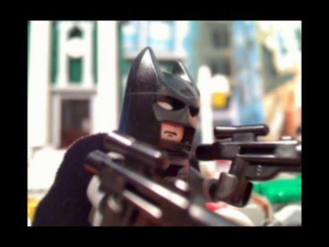 """Lego Batman and Spiderman See """"Fat Rupert"""""""