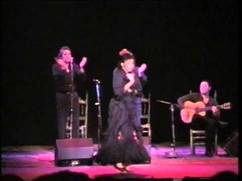 flamenco Juana Amaya baile por seguirillas Paris 1995