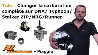 Tuto Changer le carburateur de son Typhoon / Stalker / Zip / ...