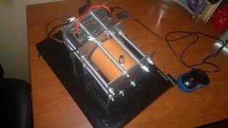 Как сделать электролизер водорода самому (HHO)(Электролизер делал с нержавейки 2,0 мм, труба 86 мм, резиновые прокладки 2,5 мм, обьем 0,5 л, электролит делал..., 2015-03-31T13:46:47.000Z)