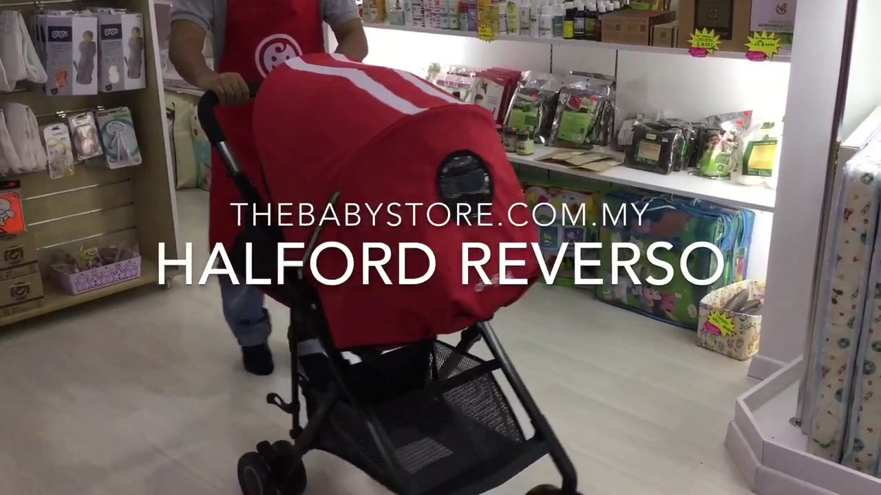 Halford Reverso Baby Stroller Review   The Baby Store