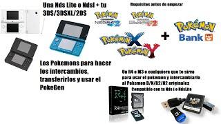 Como usar PokeGen en Pokémon XY y RO/ZA solo con pokémons de 5 Generación
