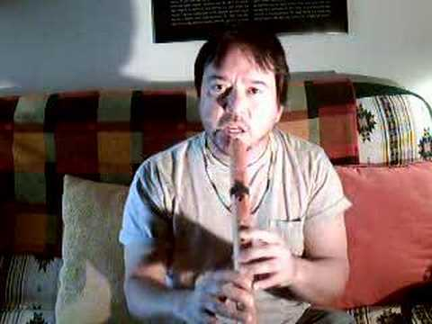 LEARN TO PLAY THE NATIVE AMERICAN FLUTE PART 1