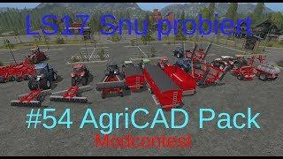 LS17 | Snu probiert | #54 AgriCAD Pack 14tlg. von Steenkamp Modding | ModContest