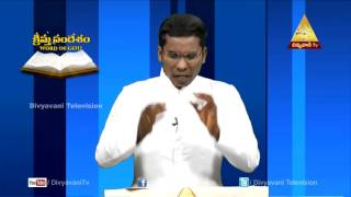 Word Of God Kristu Sandesam Fr T Jhon Epi 4 Part 2 Divyavani Telugu Catholic TV
