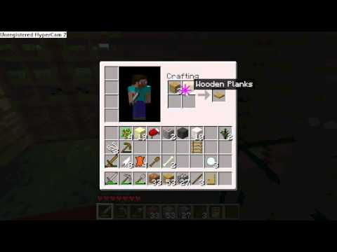 how to craft a chest in minecraft minecraft tutorials how to make a crafting table and 8106