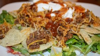 How To Recipe For Spanish Rice Taco Salad - Quick For These Hot Days