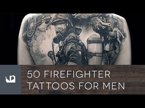 50 Firefighter Tattoos For Men