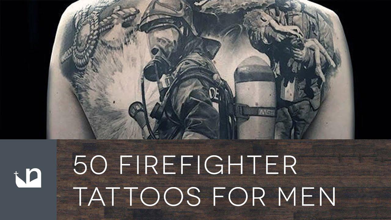 50 Firefighter ... Firefighter Tattoo