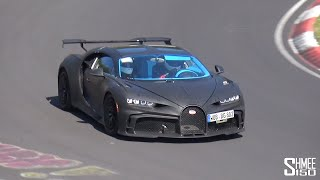 Bugatti Chiron Pur Sport SPOTTED at the Nurburgring!