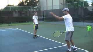 Учимся правильно играть в теннис. Теннису все возрасты покорны.