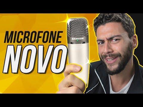 COMPREI um microfone MUITO CARO - samson c03u   Meus equipamentos #2