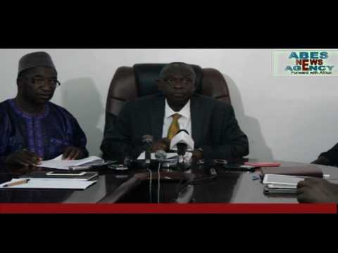AMADOU SANNEH FINANCE MINISTER DELIVERED  GAMBIA STATE OF MONEY