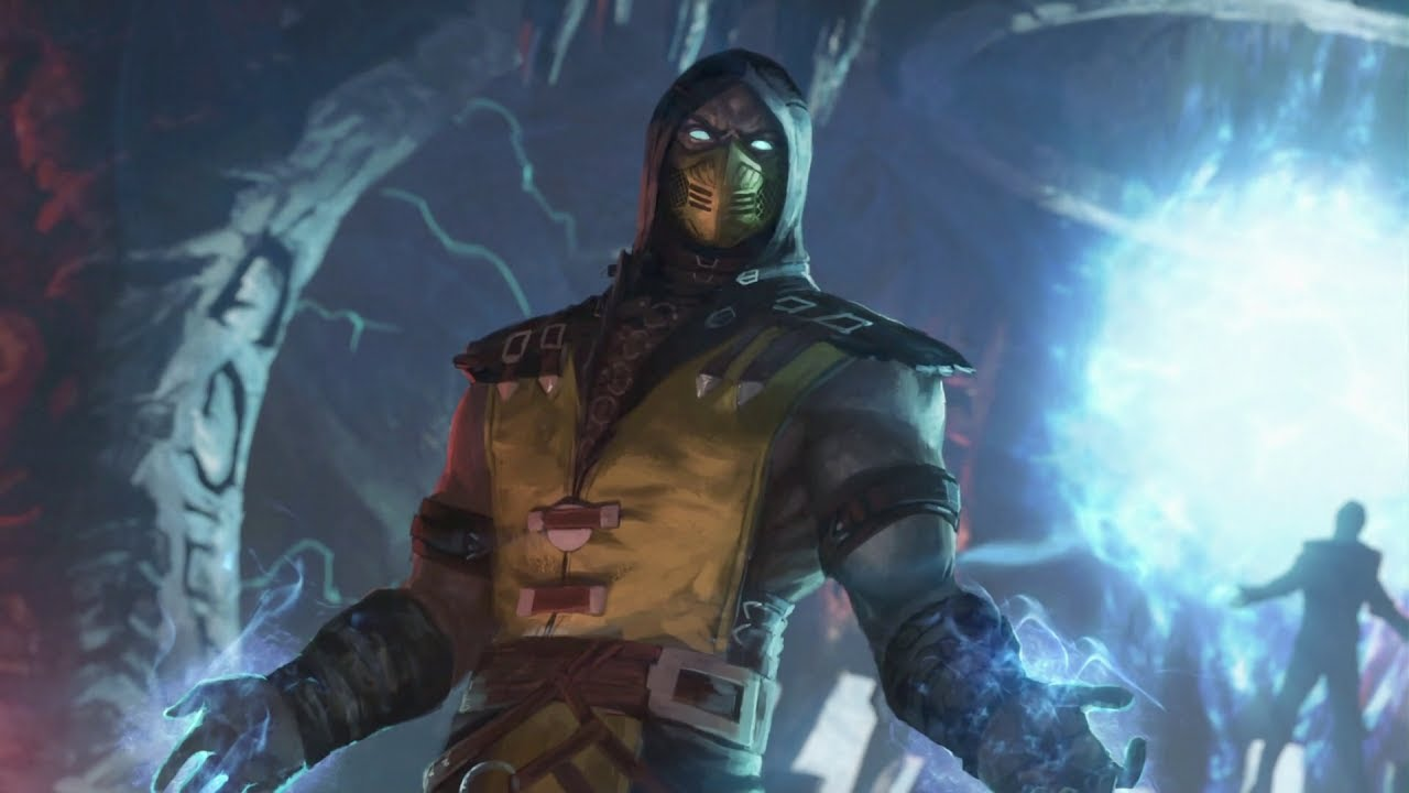 Mortal Kombat Xl Scorpion Skins Concept Art Dialogues