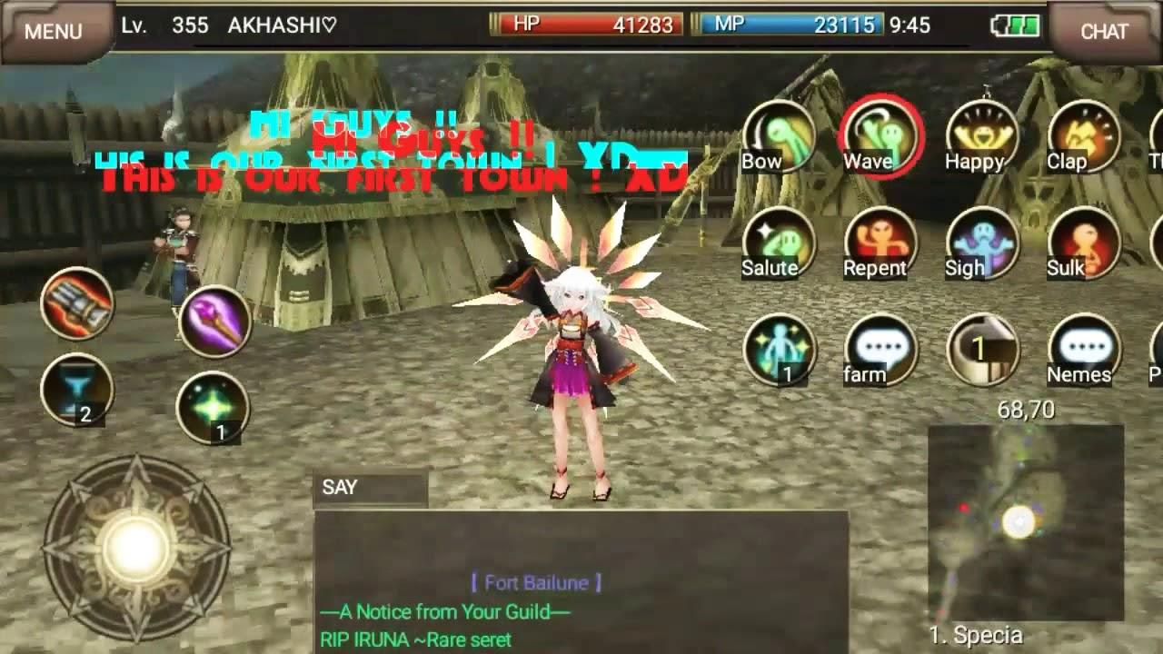 Iruna Online 3 New Levelling Map Moss Golem Re Upload Youtube