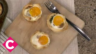 How To Make Egg Toast Tartlets And Maple-fennel Bacon