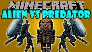 ALIEN VS PREDATOR MOD - Marines, Aliens, Depredadores - Minecraft mod 1.2 - 1.7.10 Review ESPAÑOL