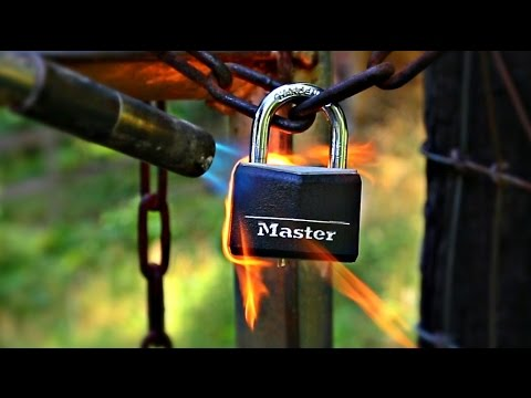 How To Open Padlock Without A Key