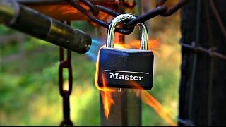 How To Open Padlock Without A Key by : CrazyRussianHacker