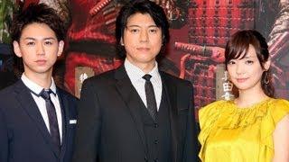 俳優の上川隆也さんが4月2日、東京都内で行われた主演舞台「真田十勇士...