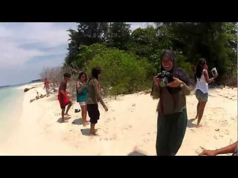 We Are Nail Army at Kayu Angin Bira Island
