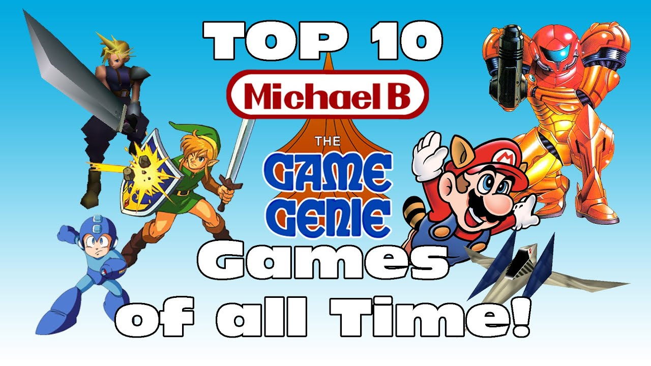 Top 10 Games Of All Time Michaelbthegamegenie Youtube