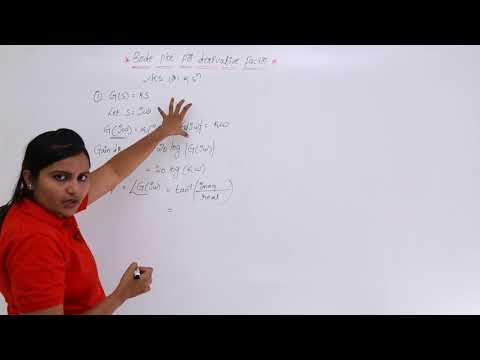 Bode plot for Derivative Term Part A