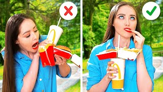 Genius FOOD HACKS For Clumsy People  Kitchen Tricks You&#39ll Love!