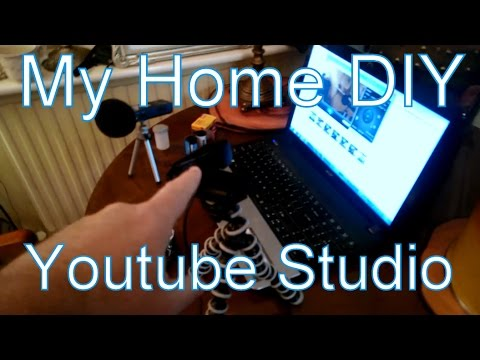 My DIY Home Studio Set-Up  For Recording Youtube Videos (Oct '14)